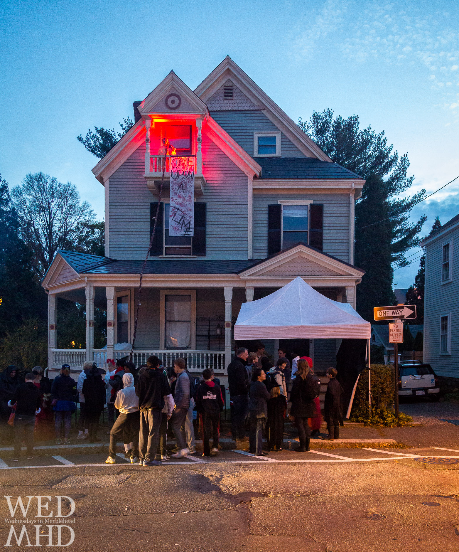 An incredible haunted house depicts twisted fairy tales in Once Upon a Time in Marblehead