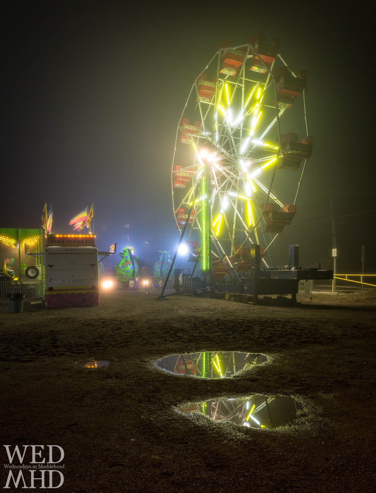 The Marblehead Carnival always brings interesting weather but the show goes on rain or shine at Devereux Beach this weekend