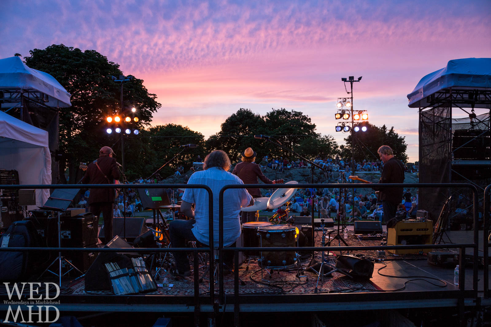 The Annual Marblehead Festival of Arts features nightly concerts at Crocker Park