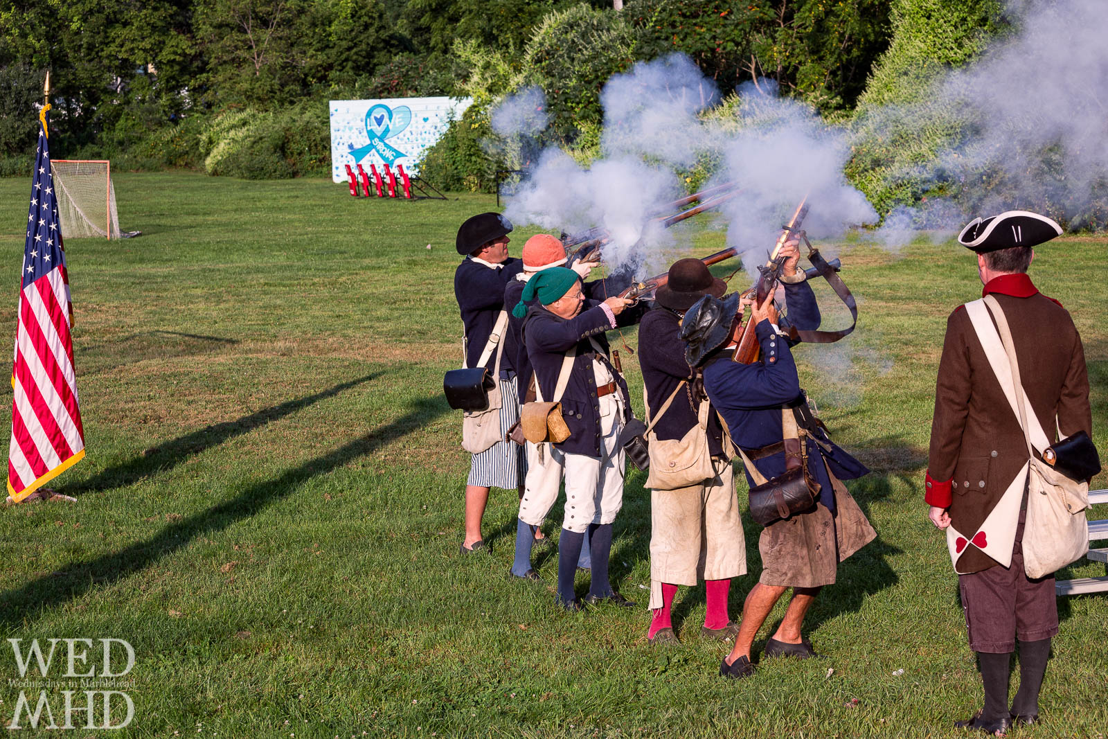 Glover's Regiment Starts the School Year with a Bang at the Marblehead Communtiy Charter Public School