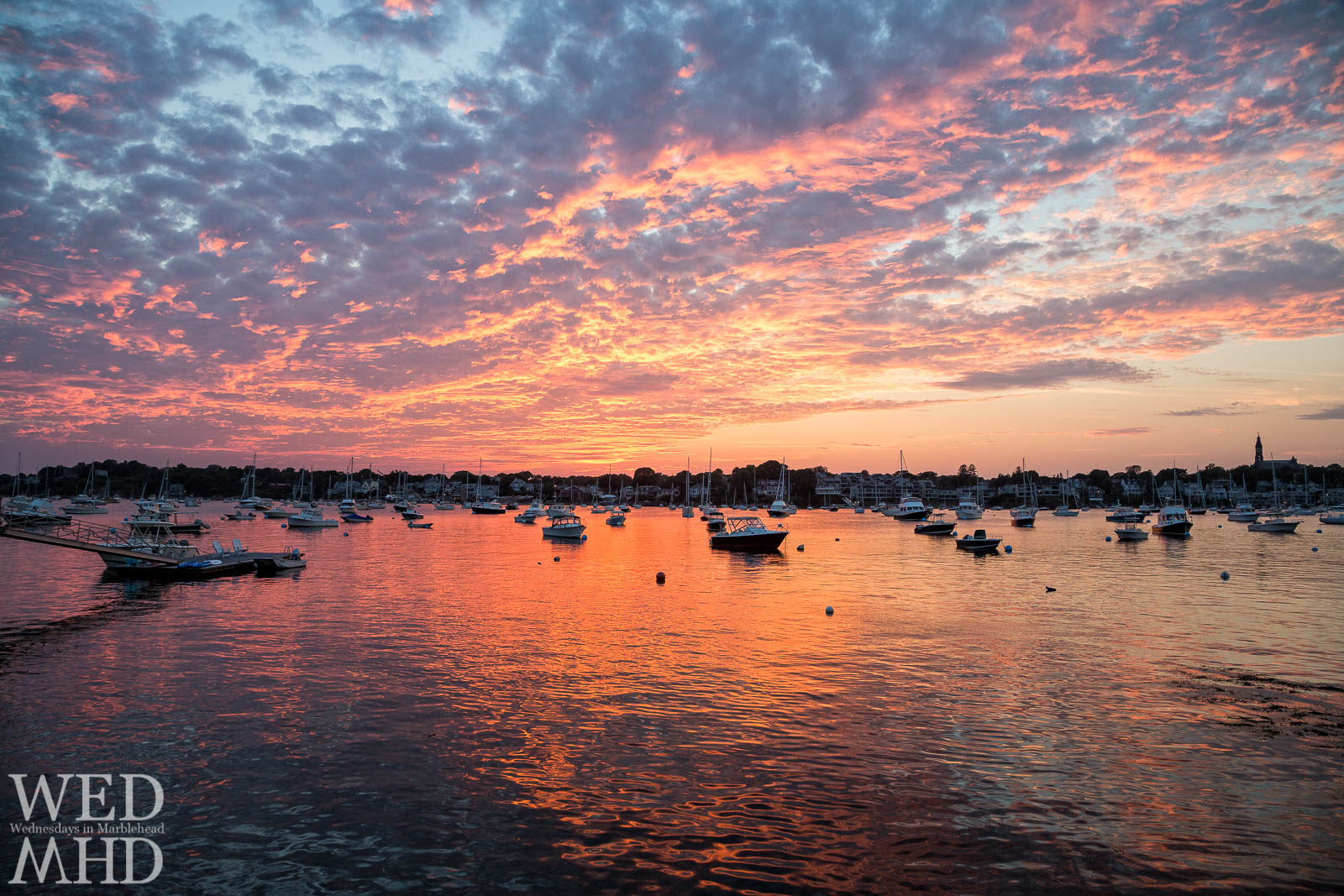 It won't be long before boats fill their moorings and we can once again enjoy warm Summer sunsets on the Harbor