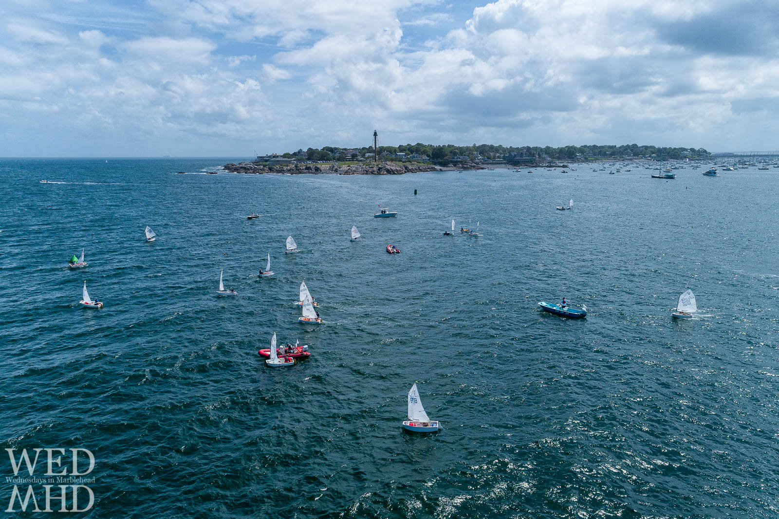 Marblehead Junior Race Week begins on Monday and continues through Wednesday with Optis and Lasers racing in the waters around Marblehead
