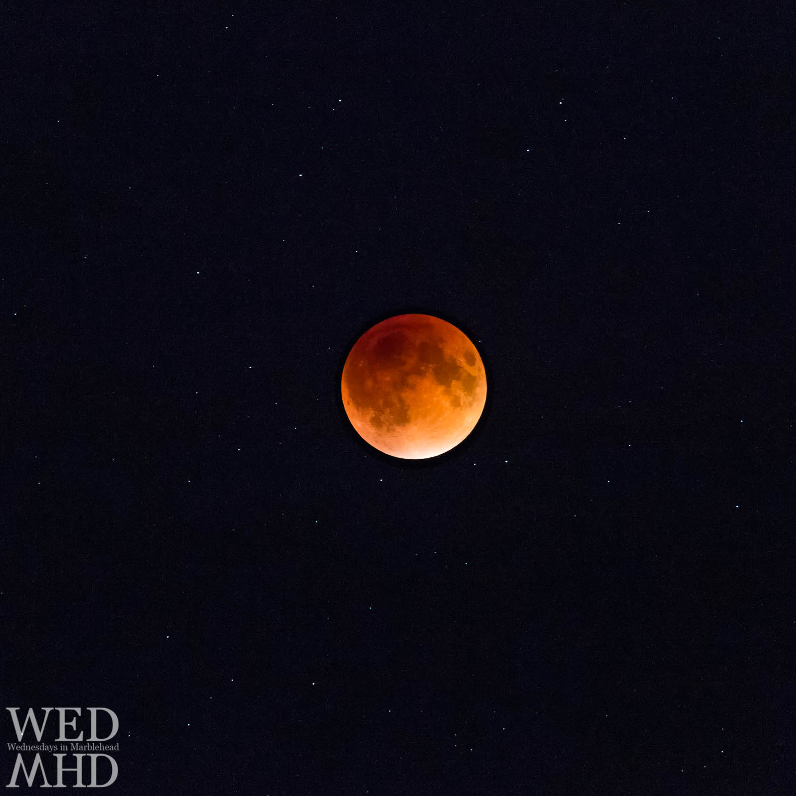 The last lunar eclipse took place on September 27, 2015 and featured a blood red supermoon in the sky over Marblehead