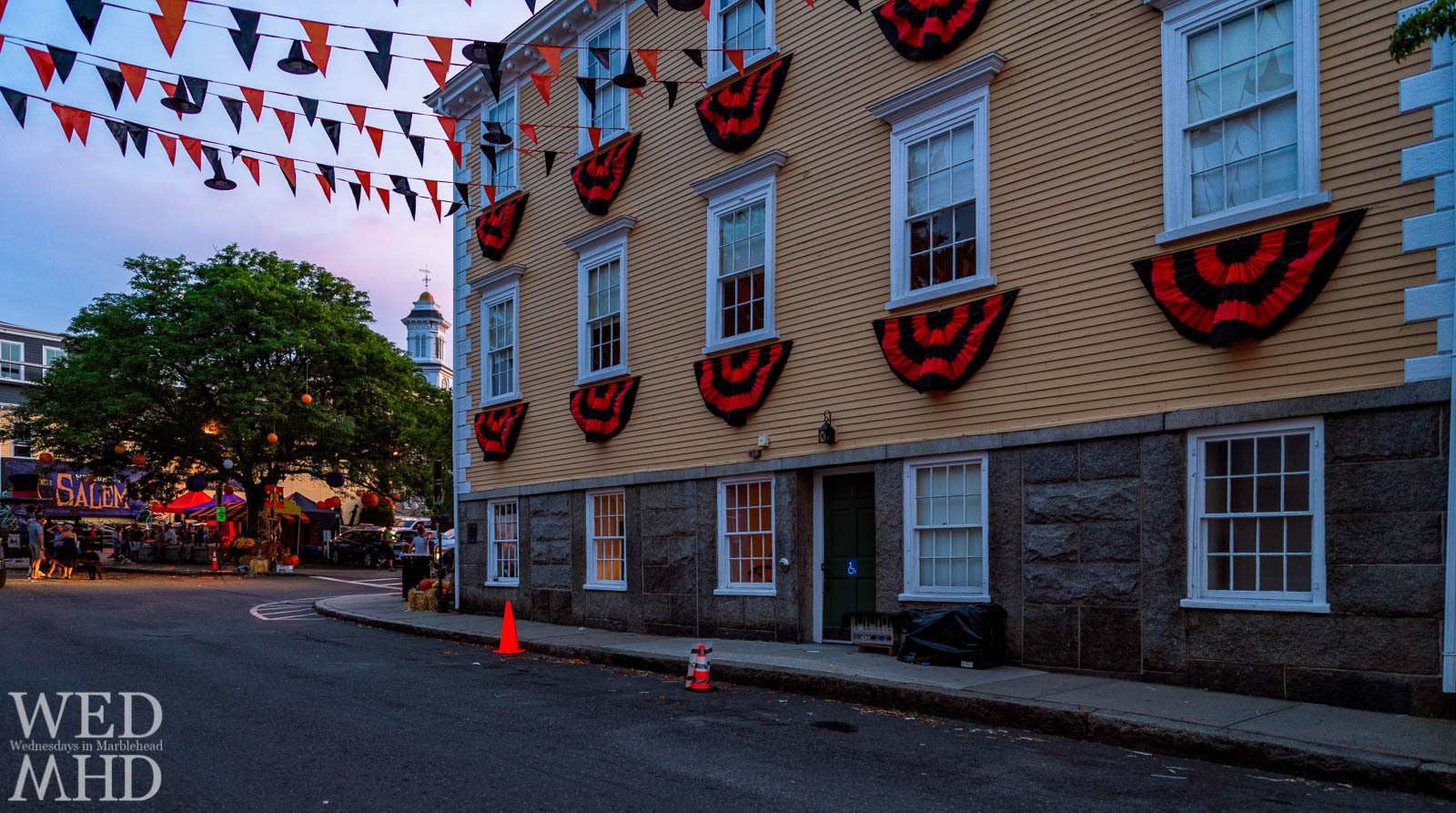 Hollywood comes to Marblehead for the filming of the Adam Sandler Netflix movie 'Hubie Halloween' which turned Old Town House to a Salem locale