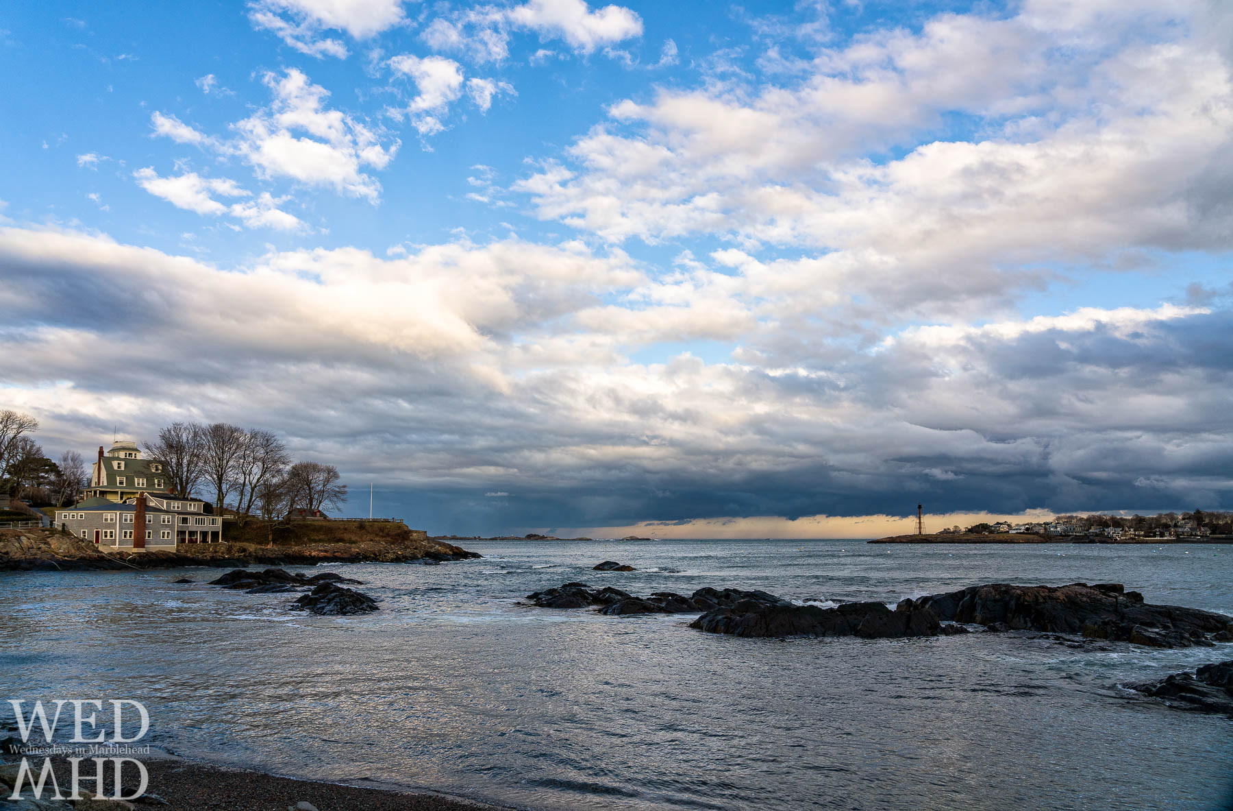 An expansive view from Fort Beach no longer includes the Great Tree at Fort Sewall which is now gone but not forgotten