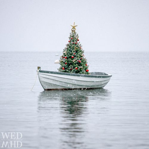 A newer take on the Christmas at Sea image that graced the cover of Northshore Magazine