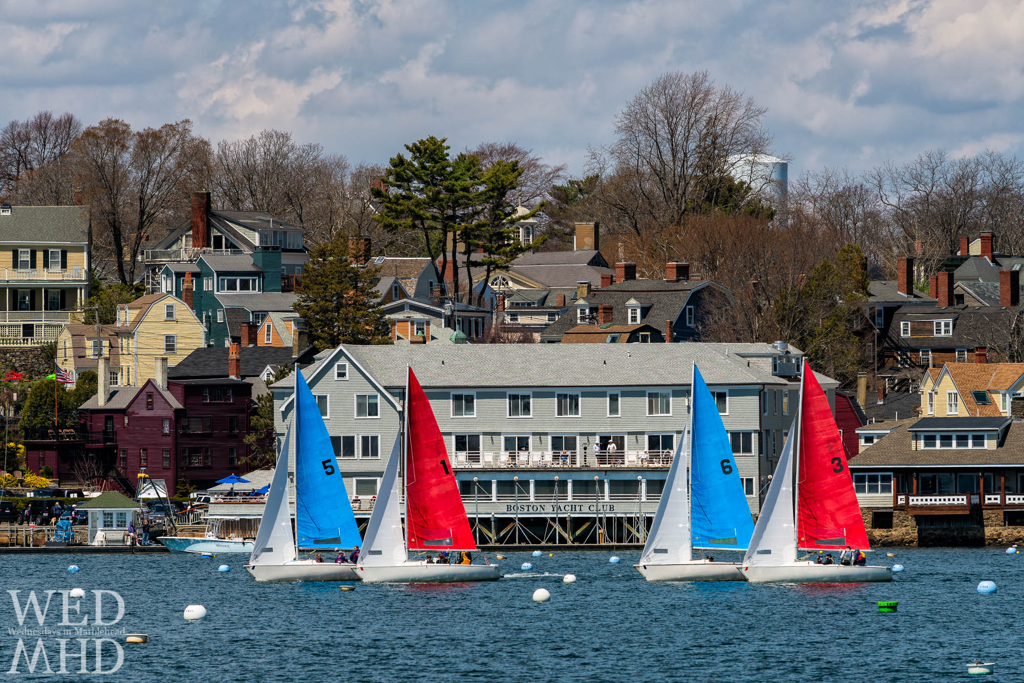 The Boston Yacht Club's Jackson Cup Race finishes today with racing inside Marblehead Harbor
