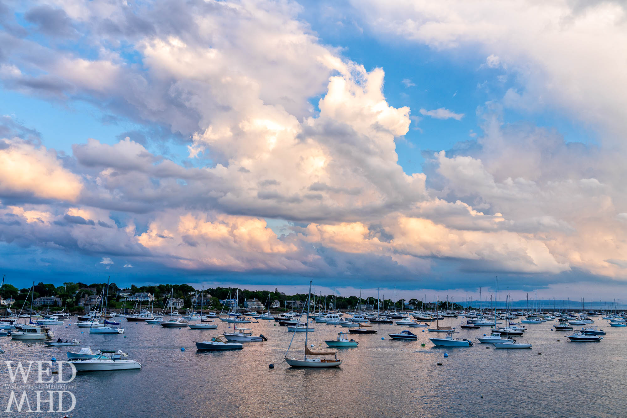 We haven't won yet but Marblehead really should be voted the best harbor in America with views like this